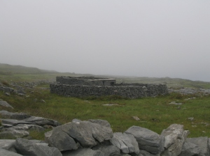 Ancient dwelling on the Aran Islands